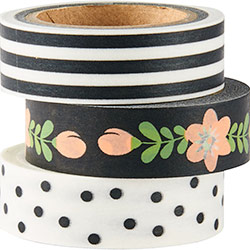 Black and White Washi Tape