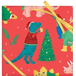 Santasaurus Wrap - 2 Sheets / Roll