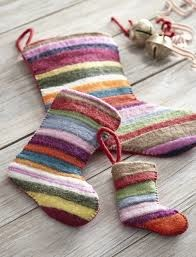Jubilee Felt Stocking Multicolor - Small