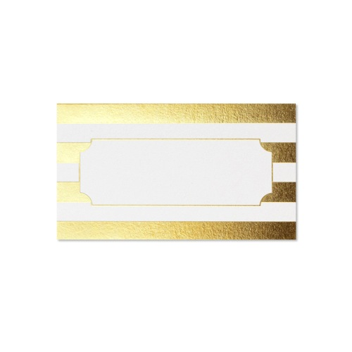 Gold Cabana Place Card