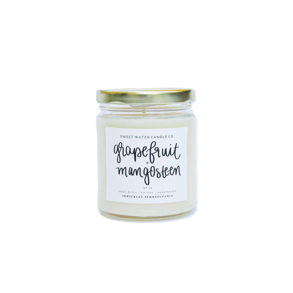 9oz Soy Candle - Grapefruit and Mangosteen