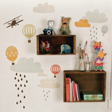 Fabric Decals - Up Up & Away