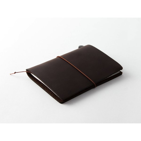 Traveler's Notebook PASSPORT SIZE Leather Cover - Brown