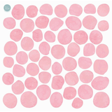 Fabric Decals - Pink Pebbles