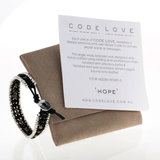 'HOPE' Chain 1 Wrap Bracelet