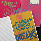 WRITE NOW JOURNAL - all things grow with love