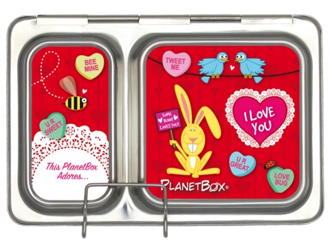 Shuttle Lunchbox Magnets - Love Bug