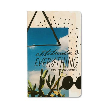 WRITE NOW JOURNAL - Attitude is everything