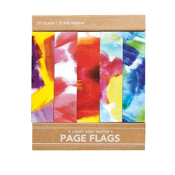 Light and Water - Page Flags
