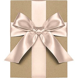 Blush Satin Ribbon 1/4""