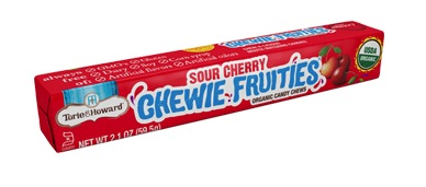 Torie & Howard Fruit SOUR Chew Stick Packs - Sour Cherry