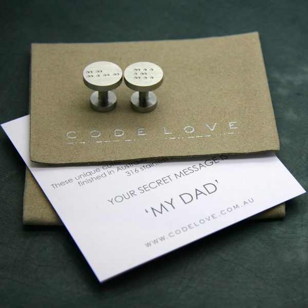 'MY DAD' Cuff Links