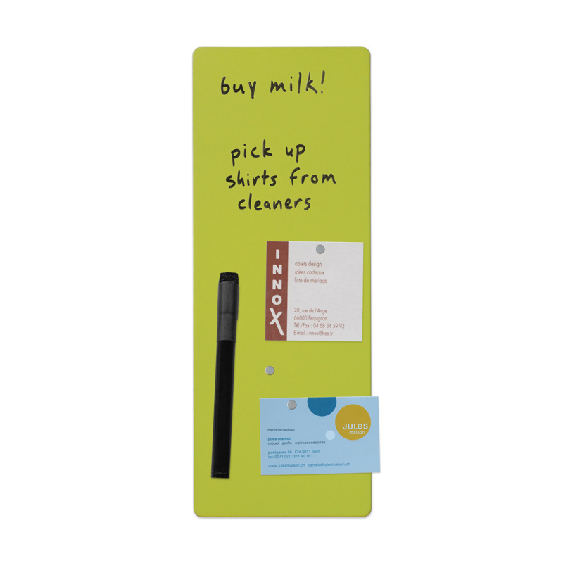 4x11 enlister magnet-backed rewritable magnet board