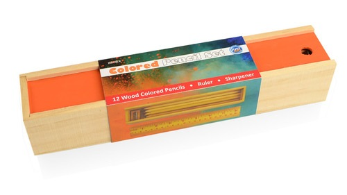 Coloured Pencil Set - Orange