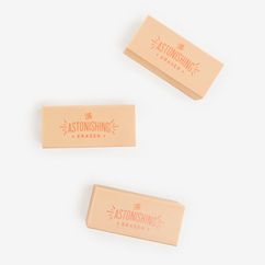 Astonishing Erasers - set of 3