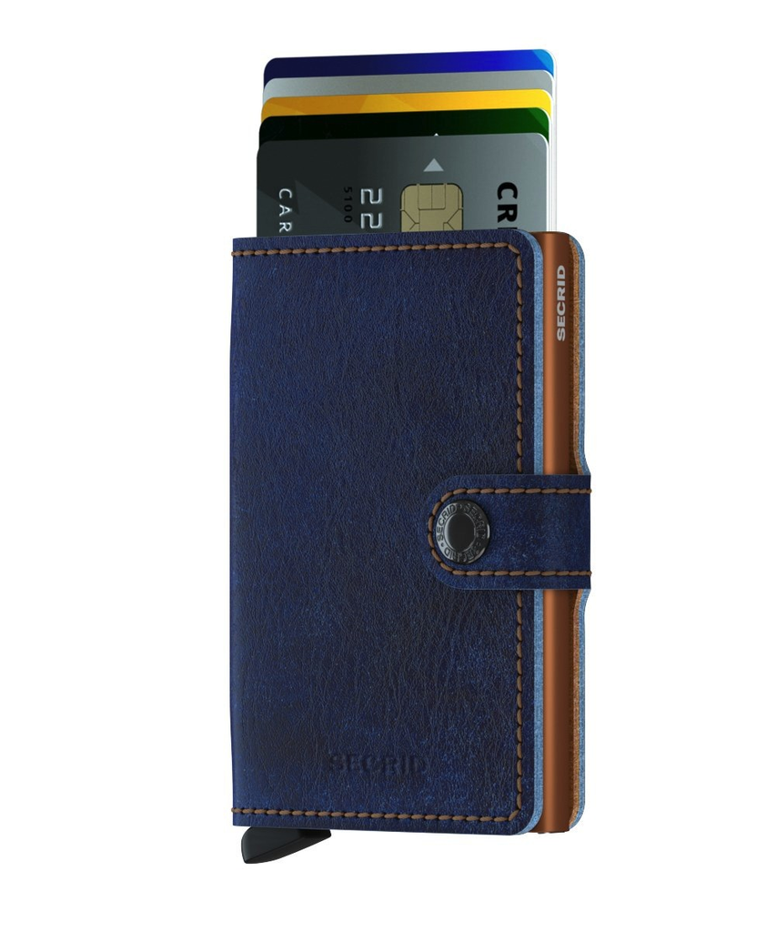 Mini Wallet - Indigo 5 titanium
