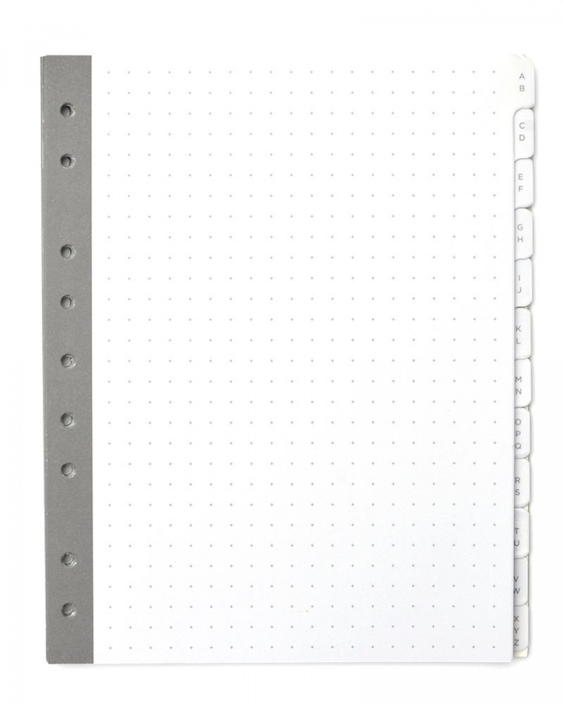 TAB DIVIDERS MINI A-Z 12CT