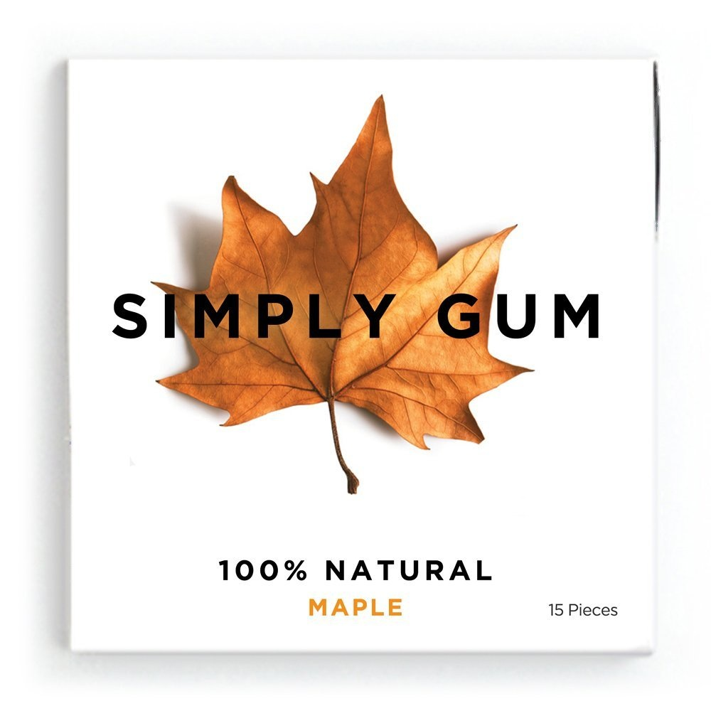 Simply Gum - Maple