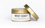 Travel Tin Soy Candle - West Coast