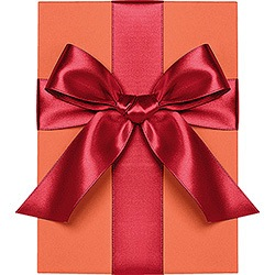 Red Satin Ribbon 1/4""