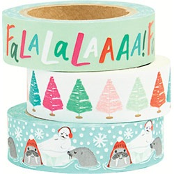 FaLa, Critters, Bright Trees Washi