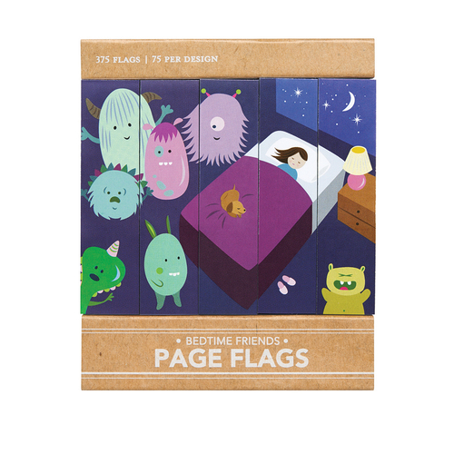 Bedtime Friends - Page Flags