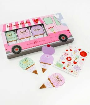 Ice Cream Truck - VDAY Card set
