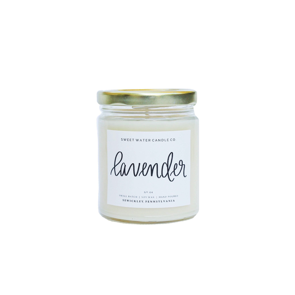 9oz Soy Candle - Lavender