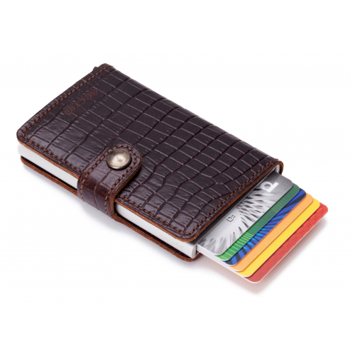 Mini Wallet - Amazon Brown