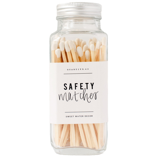 White Glass - Safety Matches