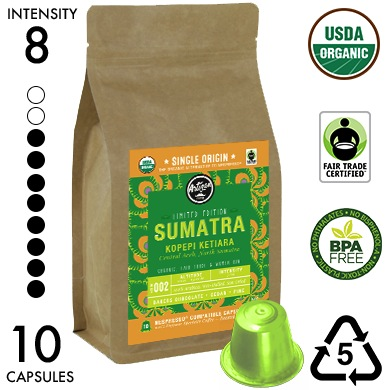 SUMATRA: Kopepi Ketiara - Limited Edition - Single Origin