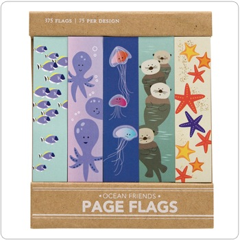 Ocean Friends- Page Flags