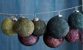 Sparkle Ball Ornament Warm Tone - Large