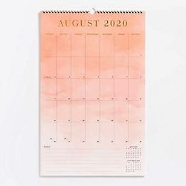 2021 Foil Watercolor Calendar