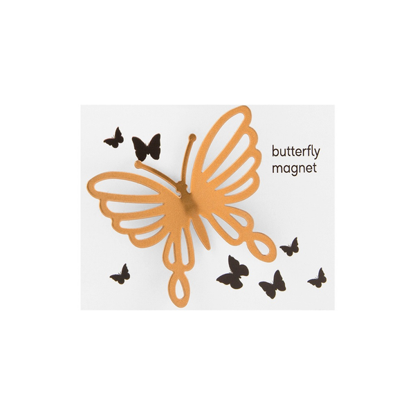 Butterfly Magnet - Copper/Rose Gold