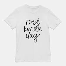 Rose Kinda Day Tee - Medium  / White