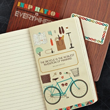 "WRITE NOW JOURNAL - ""I want to ride my bicycle."" - Queen"