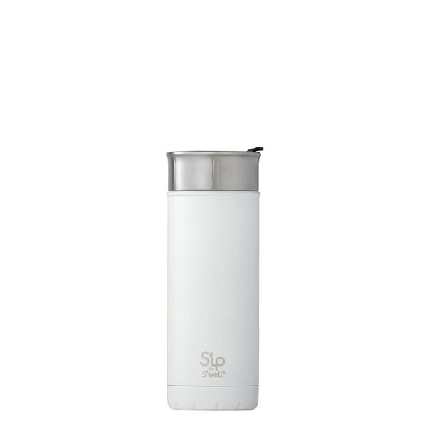 S'well/S'ip - 16oz 475ml Flat White Travel Mug