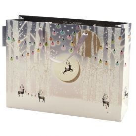 Glow - Xmas Trees Landscape Bag