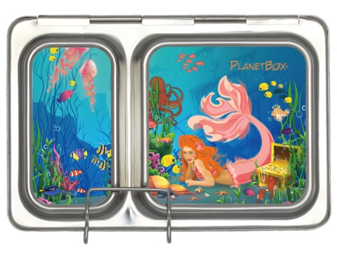Shuttle Lunchbox Magnets - Mermaids