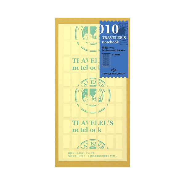 Traveler's Notebook Double-sided sticker