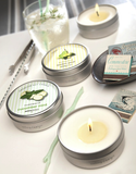 Candle Travel Tin - Green tea