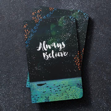 WRITE NOW JOURNAL - Always Believe