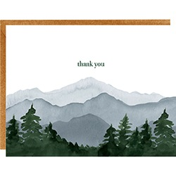 Mountain Thank You