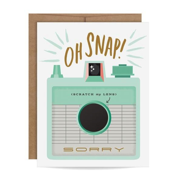 Oh Snap! Scratch-off Card