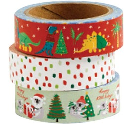 Holiday Critters 2018 Washi Set of 3