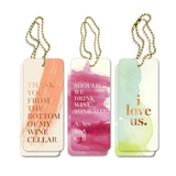 Gift/Wine Tags - Rose Gold Watercolour