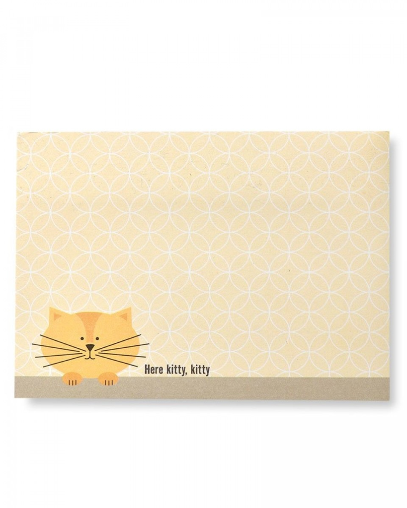 'Here Kitty, Kitty' Sticky Notes