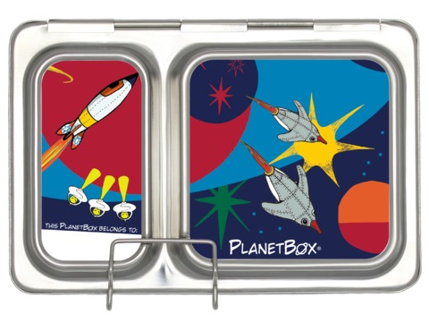 Shuttle Lunchbox Magnets - Space Ships