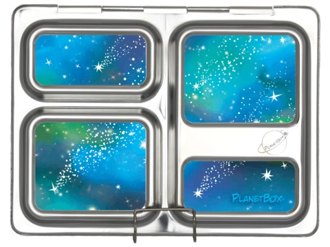 Launch Lunchbox Magnets - Galaxy